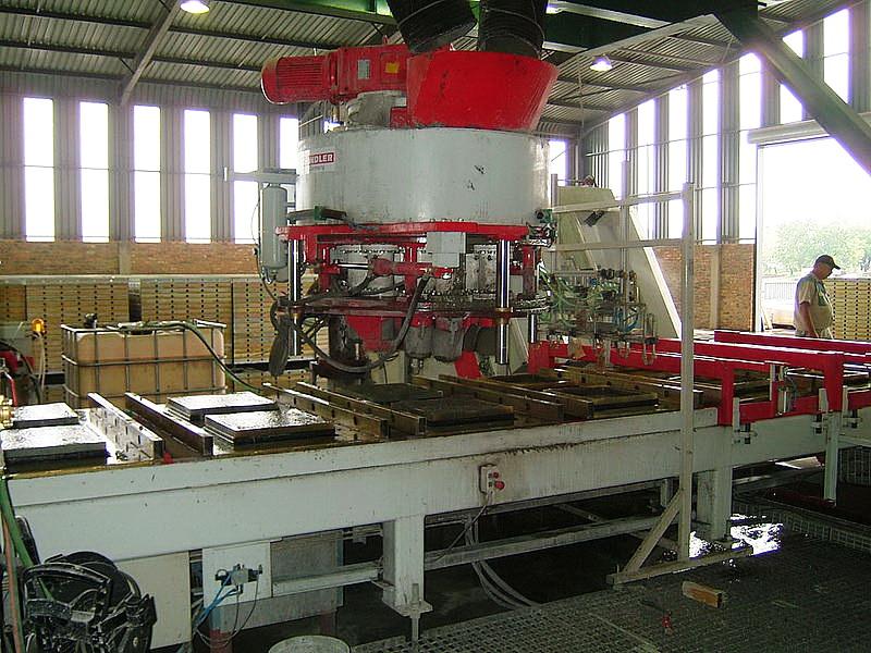Изготовление бетонных изделий